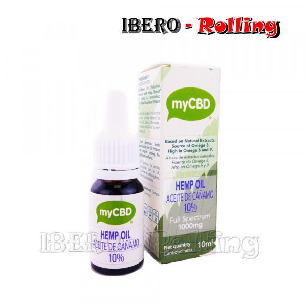 ACEITE CAÑAMO MYCBD 10% - 10ML