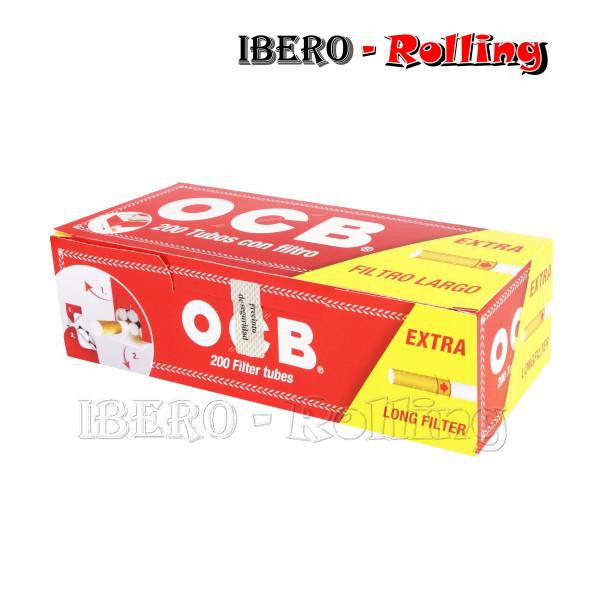 TUBOS OCB ROJO 200 TUBOS -...