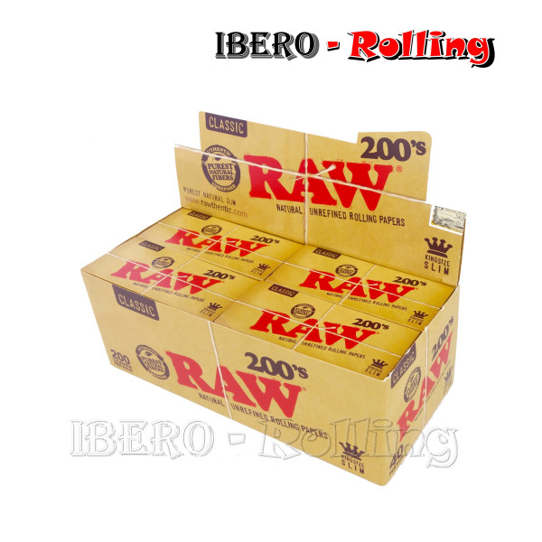 PAPEL RAW LARGO 200 110MM -...