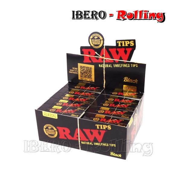 FILTROS RAW CARTON BLACK 50...