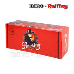 TUBOS SMOKING ROJO 200...