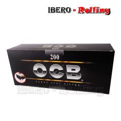 TUBOS OCB NEGRO 200 TUBOS -...
