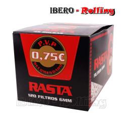 FILTROS RASTA SLIM 6MM 120...