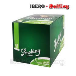 FILTROS SMOKING MENTA 6MM...