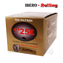 FILTROS RASTA 6MM BIO 120...