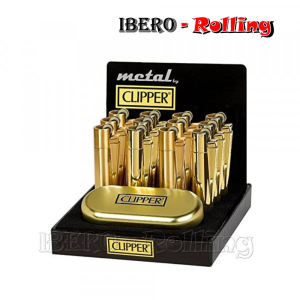 CLIPPER METALICO GOLD MATE...