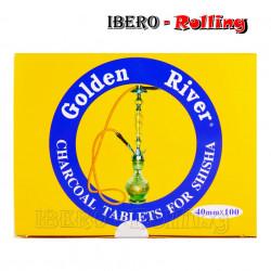 CARBON GOLDEN RIVER 40MM -...